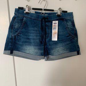NWT Cuffed Denim Shorts - size L